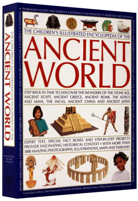The Childrens Ilustrated Encyclopedia of the ANCIENT WOLRD 0