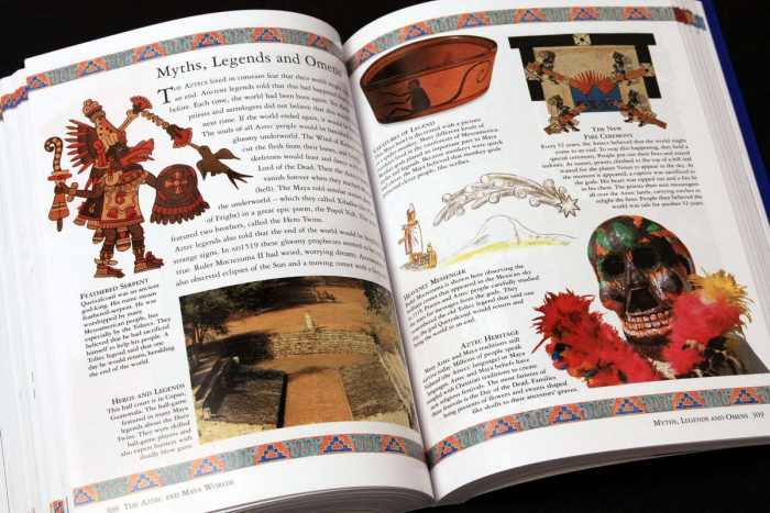 The Childrens Ilustrated Encyclopedia of the ANCIENT WOLRD 5