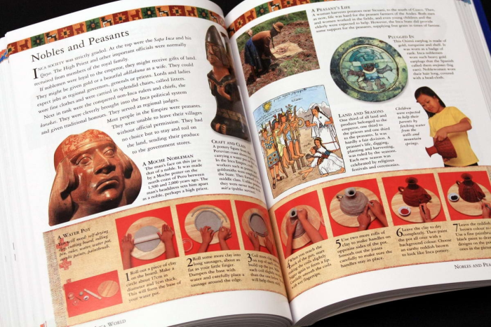 The Childrens Ilustrated Encyclopedia of the ANCIENT WOLRD 6