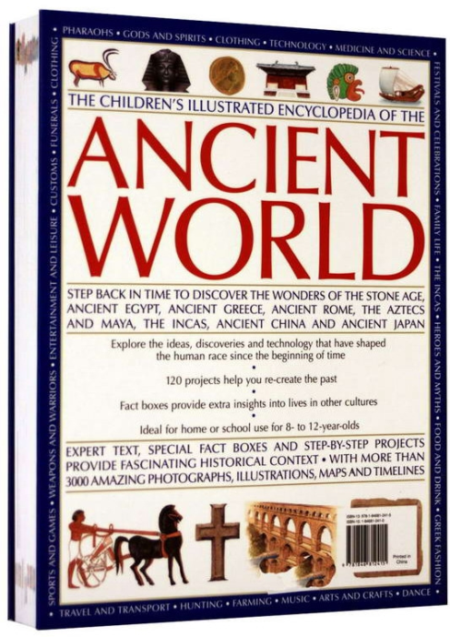 The Childrens Ilustrated Encyclopedia of the ANCIENT WOLRD 1