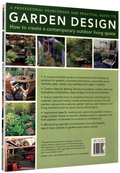 A Professional Sourcebook and Practical Guide to Garden Design. How to create a contemporary outdoor living space 6