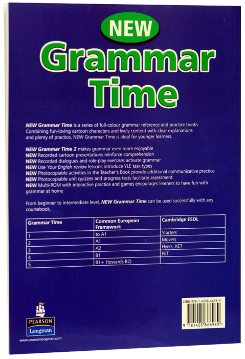 New Grammar Time 2 - with MultiRom 1