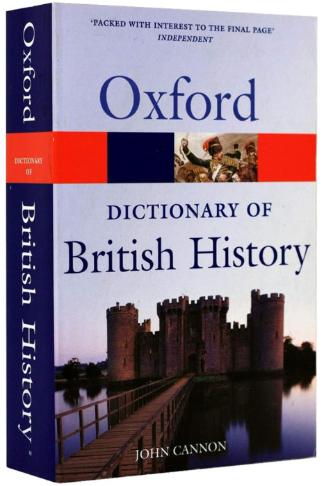 Oxford - Dictionary of British History 0