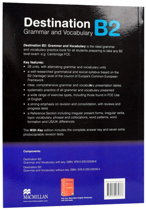 Destination B2 - Grammar & Vocabulary - with Answer Key 1