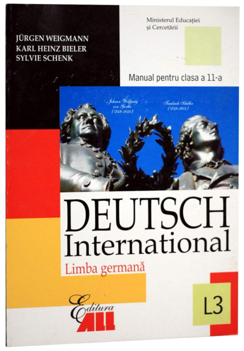 Deutsch International - Germana L3 - Manual pentru clasa a 11-a 0