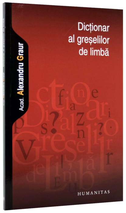 Dictionar al greselilor de limba 0