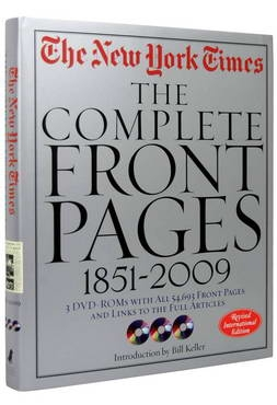 New York Times. The Complete Front Pages 1851-2008 [0]