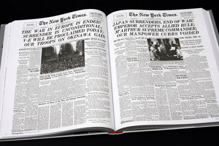 New York Times. The Complete Front Pages 1851-2008 [3]