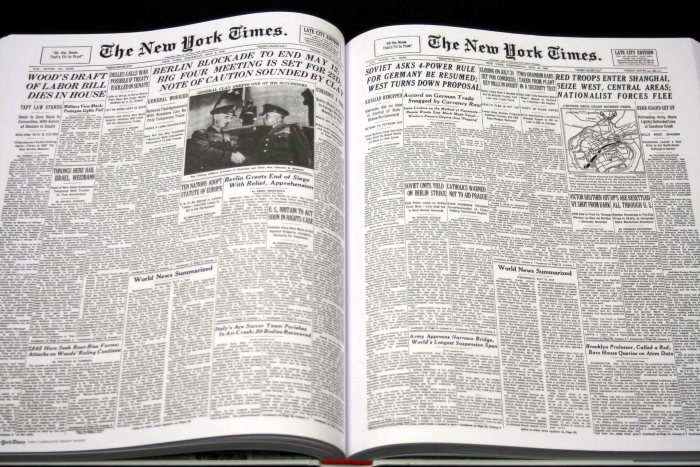 New York Times. The Complete Front Pages 1851-2008 [4]