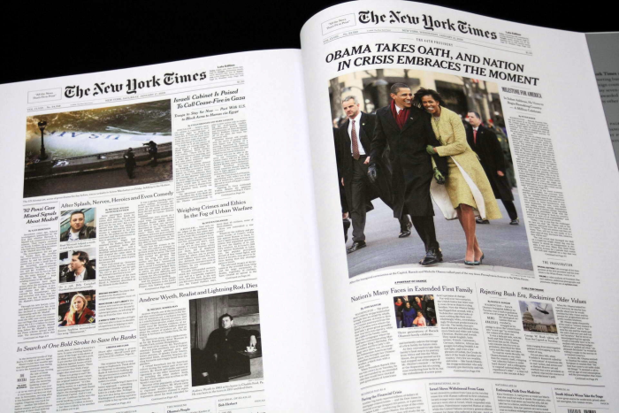 New York Times. The Complete Front Pages 1851-2008 [8]
