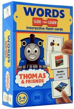 WORDS - Slide & Learn - Interactive flash-card (Thomas and Friends) [0]