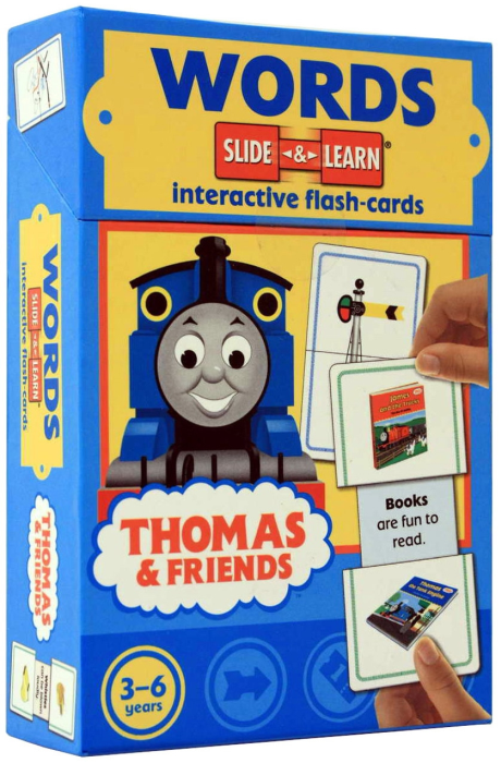 WORDS - Slide & Learn - Interactive flash-card (Thomas and Friends) [1]