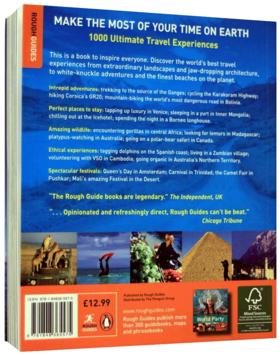 1000 Ultimate Travel Experiences - MAKE THE MOST OF YOUR TIME ON EARTH [5]