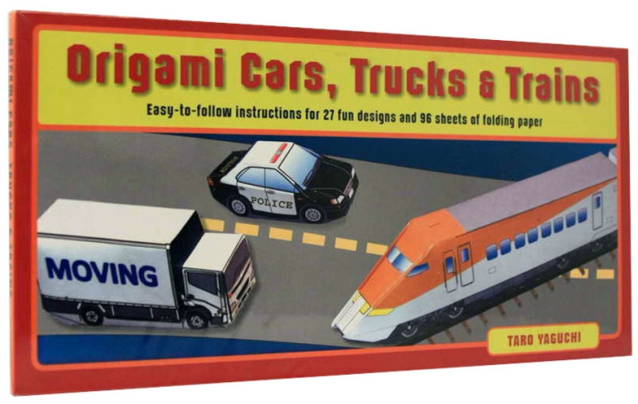 Origami Cars, Trucks, and Trains [1]