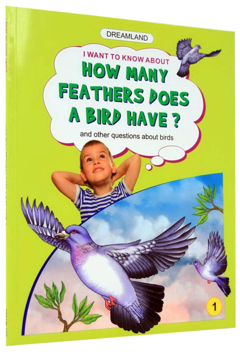 How many feathers does a bird have? - 1 [1]