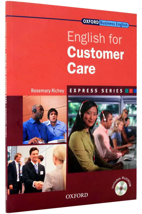 English for Customer Care Student's Book with MultiROM [1]