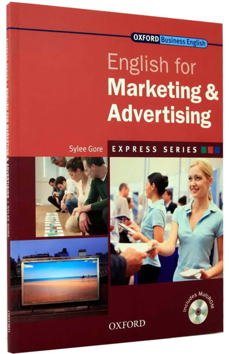 English for Marketing & Advertising Student's Book with MultiROM [0]