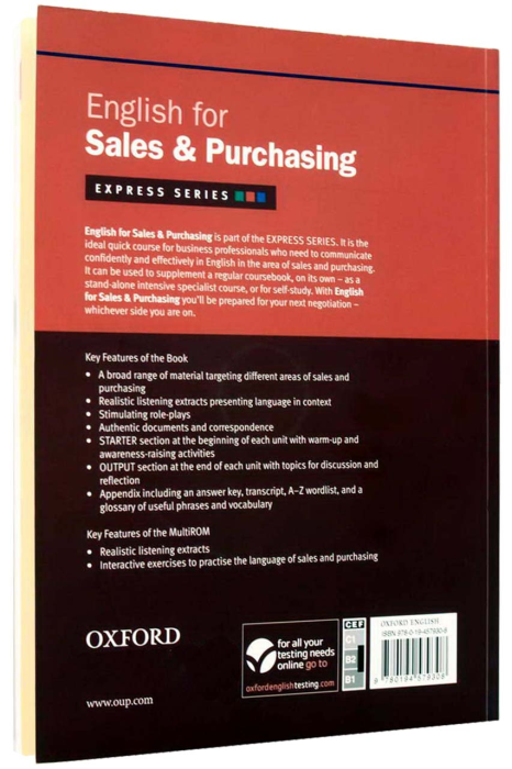 English for Sales and Purchasing Student's Book with MultiROM [1]