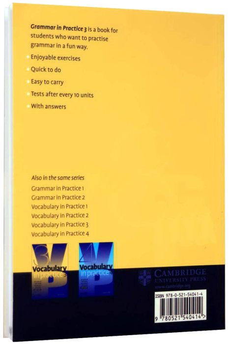 Vocabulary in Practice 3 (Pre-Intermediate) - 40 units of self-study vocabulary exercises [1]
