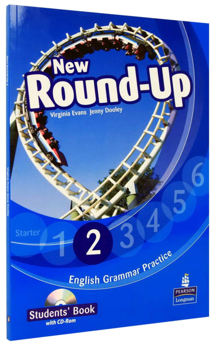 New Round-Up 2 Student Book with CD-Rom (English Grammar Practice) 0