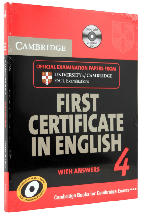 First Certificate in English 4 (FCE 4). With answers with 2 Cd 0