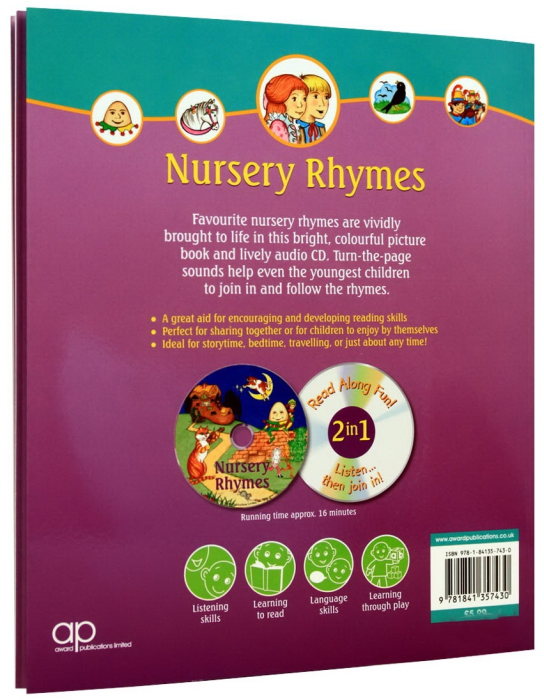 Nursery Rhymes - Book and CD 2