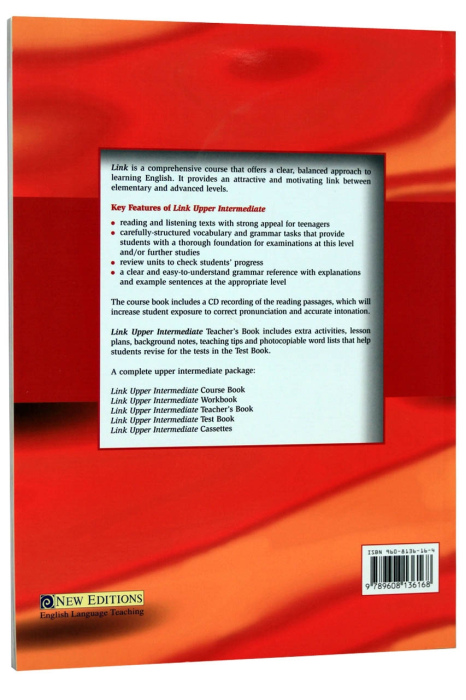 Link Upper-intermediate Course Book with CD [1]