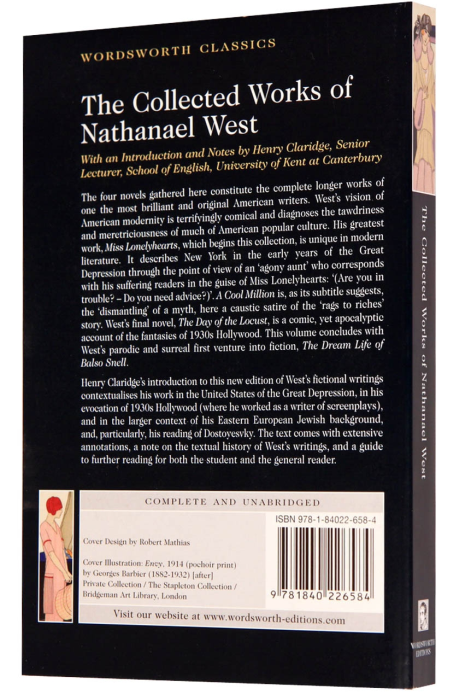 The Collected Works of Nathanael West [1]