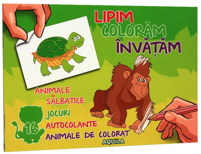 Lipim, coloram, invatam. Animele salbatice 0