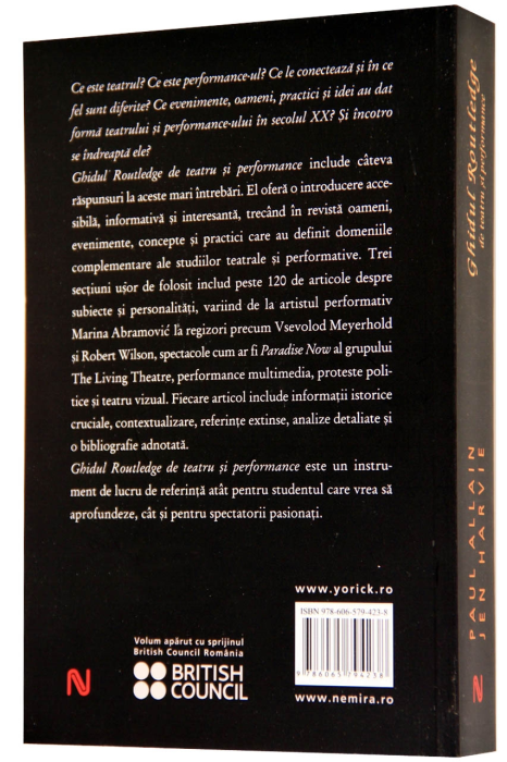 Ghidul Routledge de teatru si performance 1