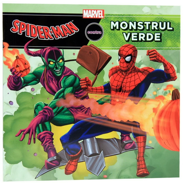 Spiderman contra Monstrul Verde 0