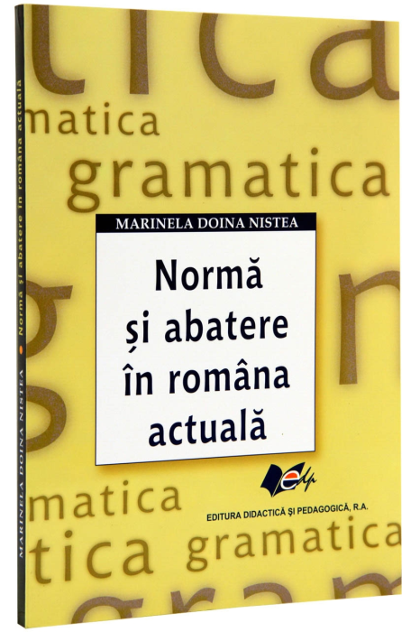 Norma si abatere in romana actuala 0