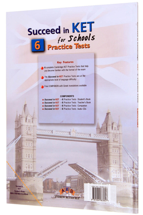 Succeed in Cambridge KET. 6 Practice Tests. Student's Book 1