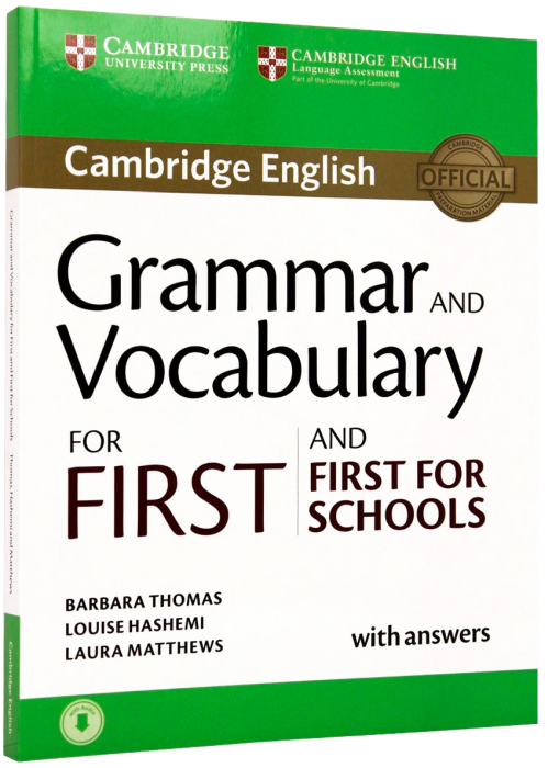 Grammar and Vocabulary for First and First for Schools Book with Answers and Audio 0