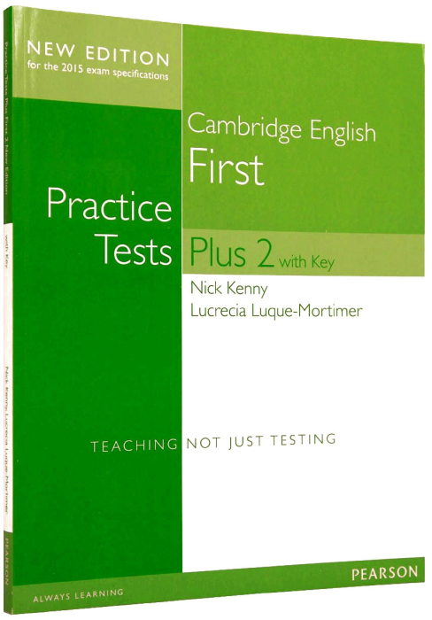 First Plus 2 Practice Tests 2015 (FCE) with Key (Online component) 0