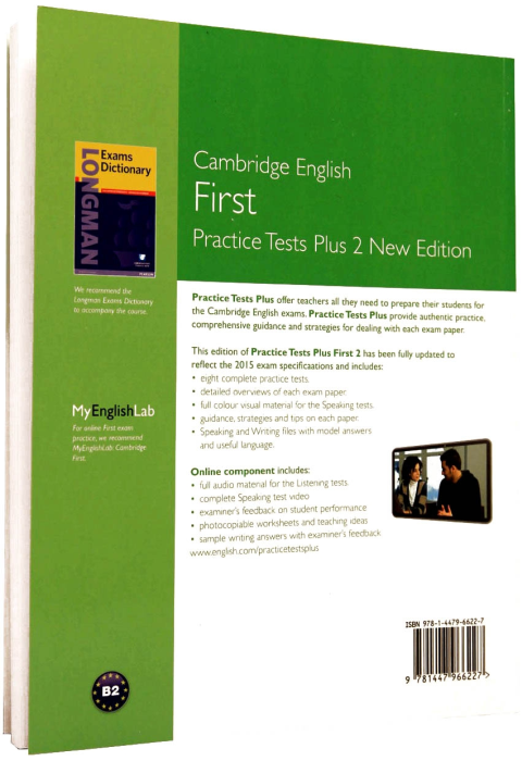 First Plus 2 Practice Tests 2015 (FCE) with Key (Online component) 1