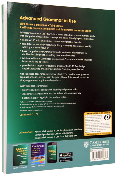 Advanced Grammar in Use with answers and Ebook. 3rd Edition [1]