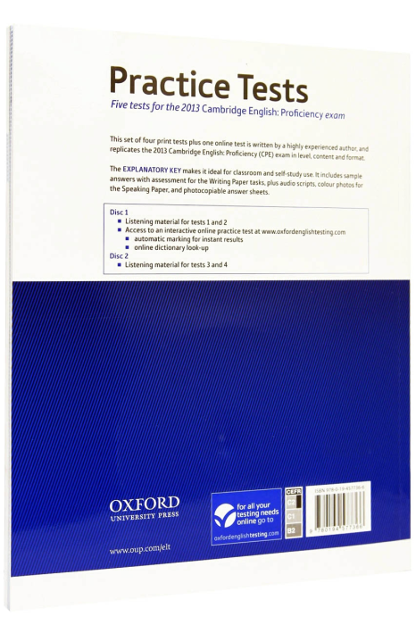 Cambridge English Proficiency Practice Tests with Key 1