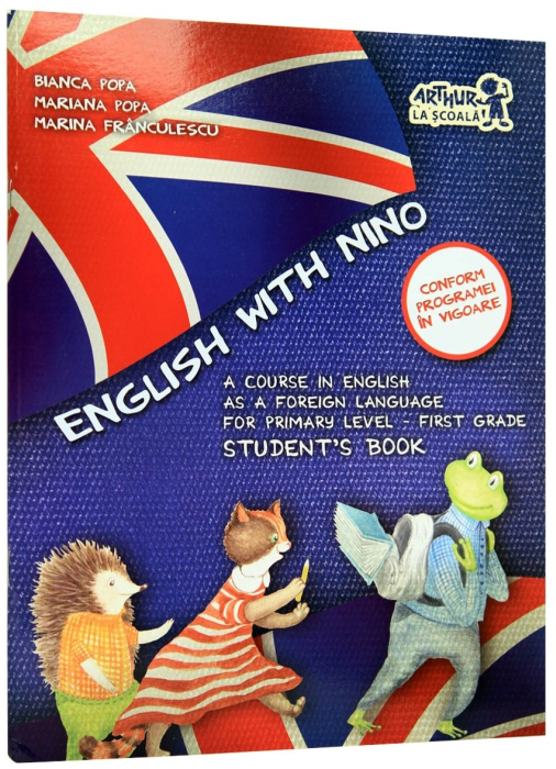 English with Nino. First Grade. Student's Book 0