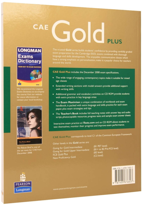 CAE Advanced Gold Plus CourseBook 1