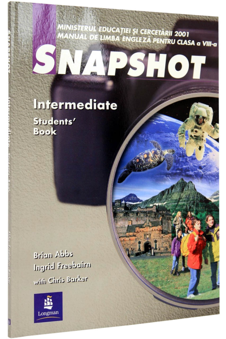 Snapshot Intermediate clasa a 8-a. Students' Book 0