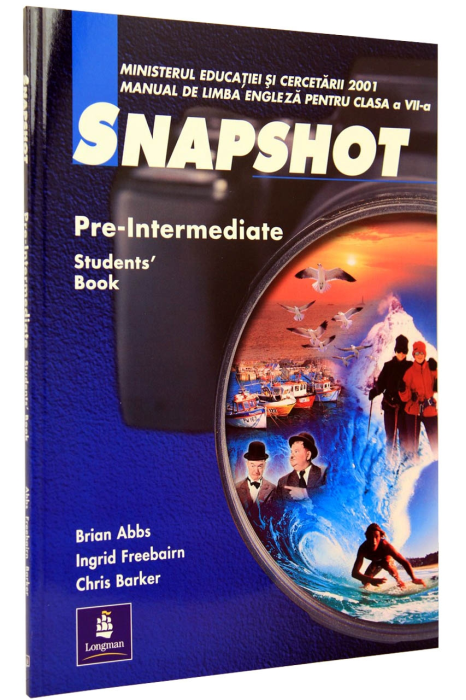 Snapshot Pre-Intermediate clasa  a 7-a. Students' Book 0