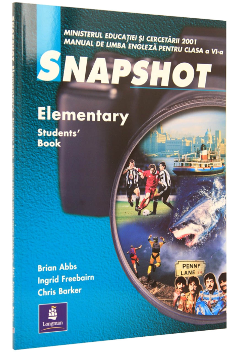 Snapshot Elementary clasa a 6-a. Students' Book 0