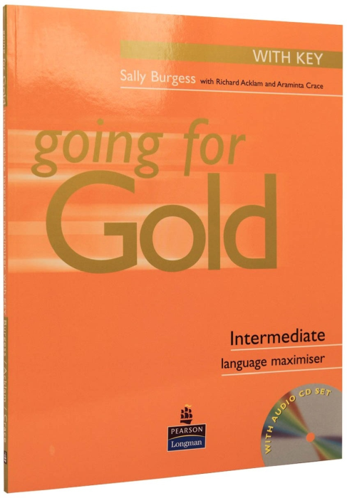 Going for Gold Intermediate Language Maximiser with Answer Key with Audio CD 0