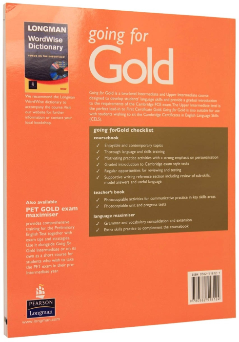 Going for Gold Intermediate Coursebook 1