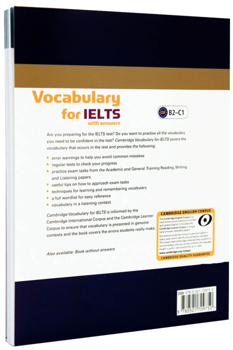 Cambridge Vocabulary for IELTS with Answers and Audio CD 1