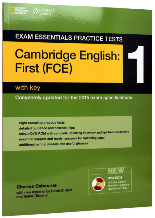 Exam Essentials Cambridge First Practice Test 1 with Key + CD 0