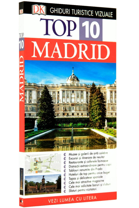 Top 10 Madrid Ghiduri turistice 2