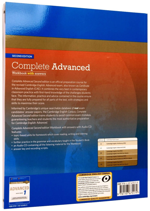 Complete Advanced Workbook with Answers + CD 1