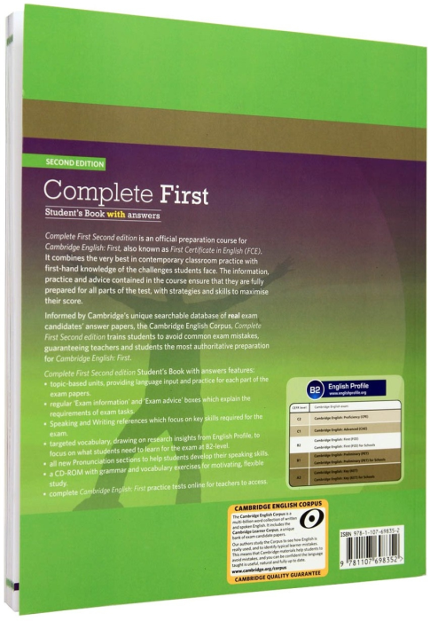 Complete First Student's Book Pack (Student's Book with Answers with CD-ROM, Class Audio CDs (2)) 1